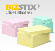 BIZSTIX Office-Haftnotizen